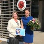 Image for the Tweet beginning: Die finnische Botschafterin Anne Sipiläinen