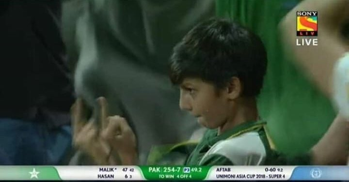 Amir watching the Pakistani batsmen undo all his hardwork <br>http://pic.twitter.com/N8uOf6F9o6