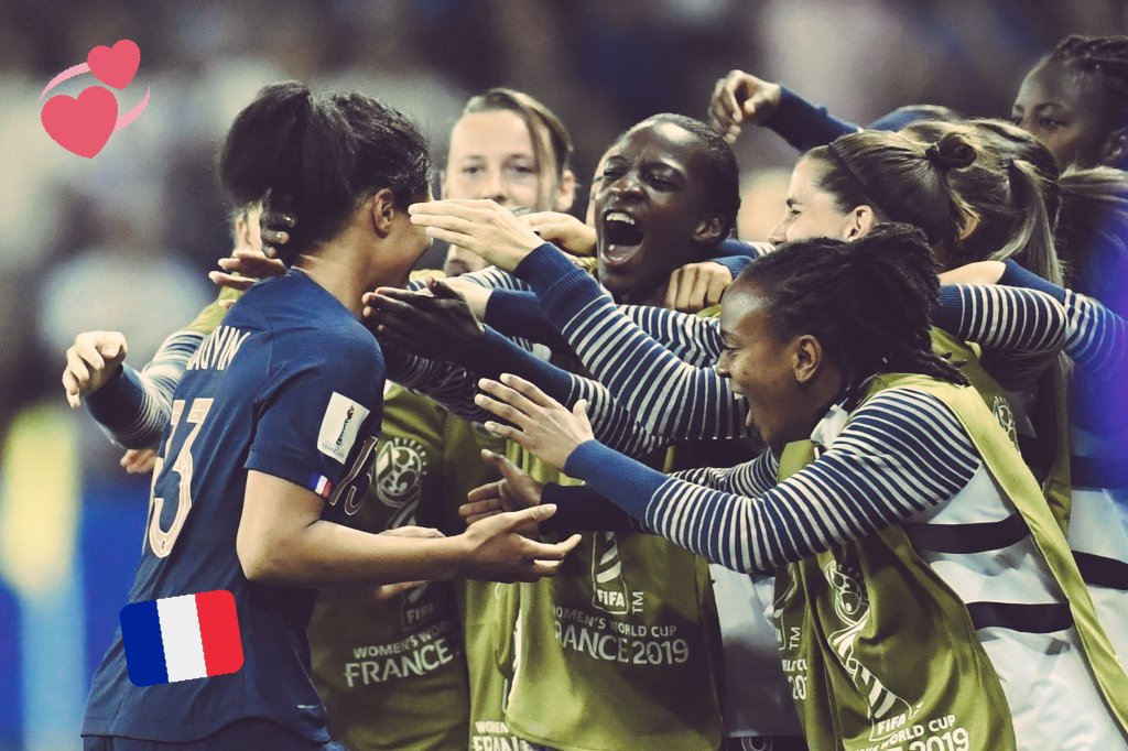 On ne lâchera rien ! Bravo les filles ! #FRA #FIFAWWC #FRANOR