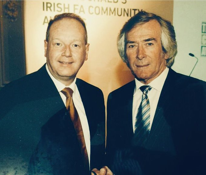 Happy Birthday to my boyhood hero and the best goalkeeper this world has produced - Pat Jennings OBE!!