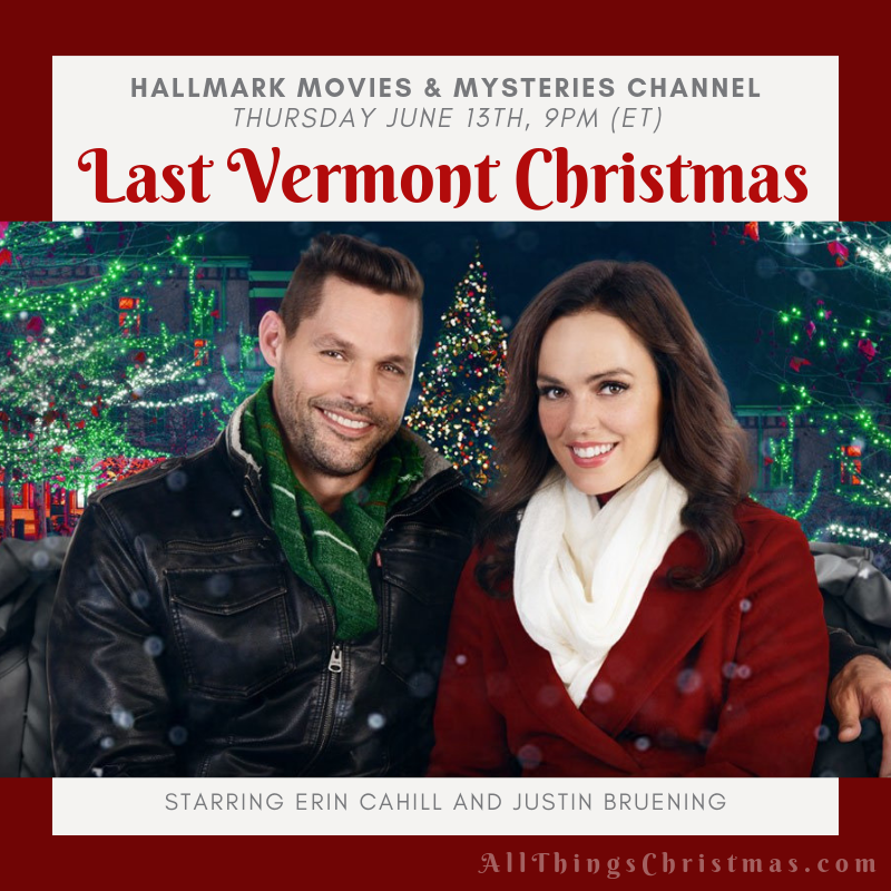 Tomorrow Night, Don't Forget! Last Vermont Christmas in Hallmark M&M Channel! Get your whole June (and Christmas in July, now available!) Free Printable Download on: http://www.allthingschristmas.com/tag/hallmark   #hallmark #hallmarkchristmas #countdowntochristmas #Hallmarkmovies #hallmarkxmas