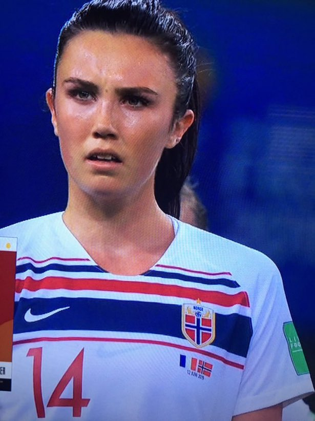 We are all Ingrid Engen after that penalty call. #FRANOR <br>http://pic.twitter.com/MRL1FpSeOs