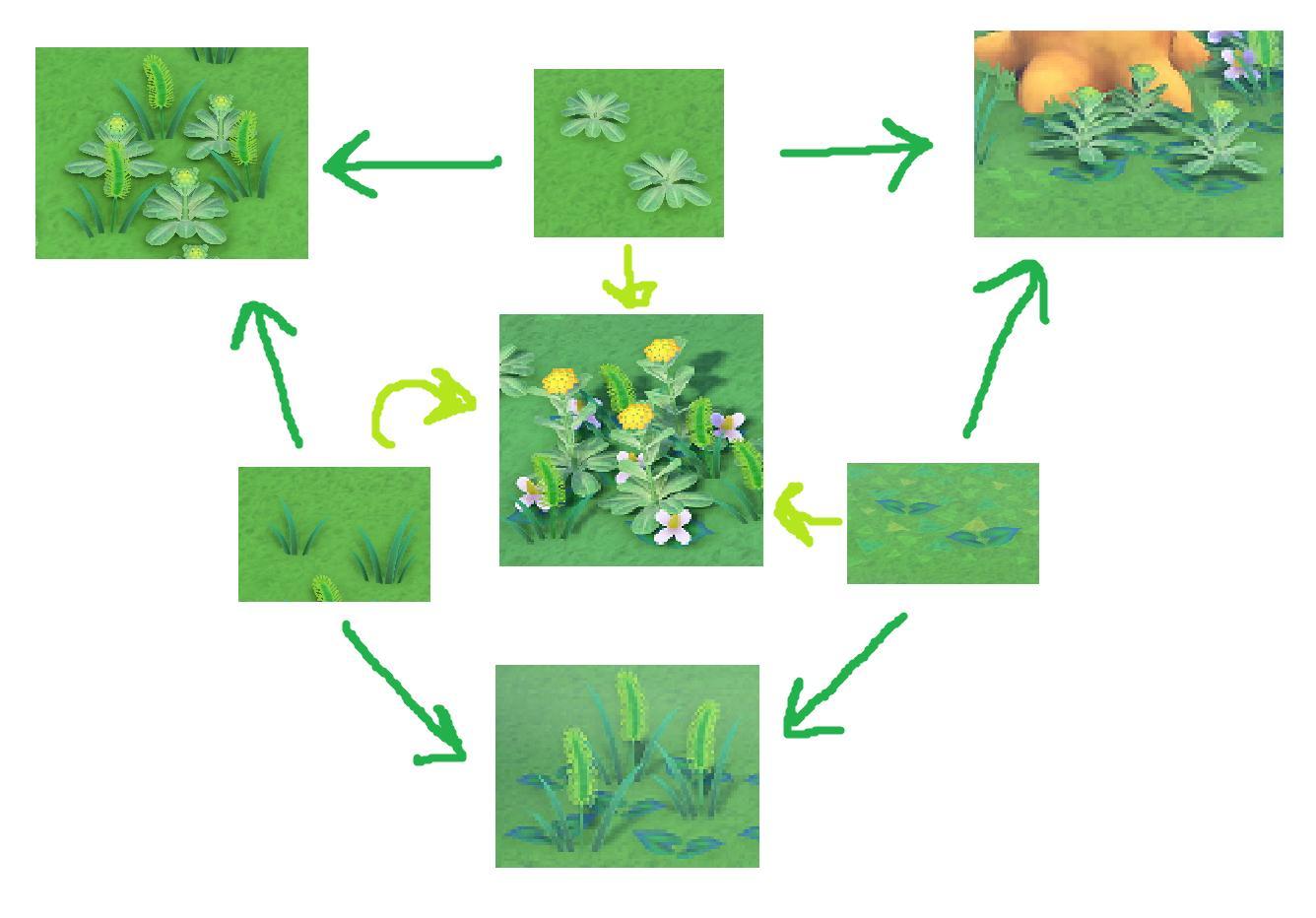 animal crossing new horizons pot leaf design