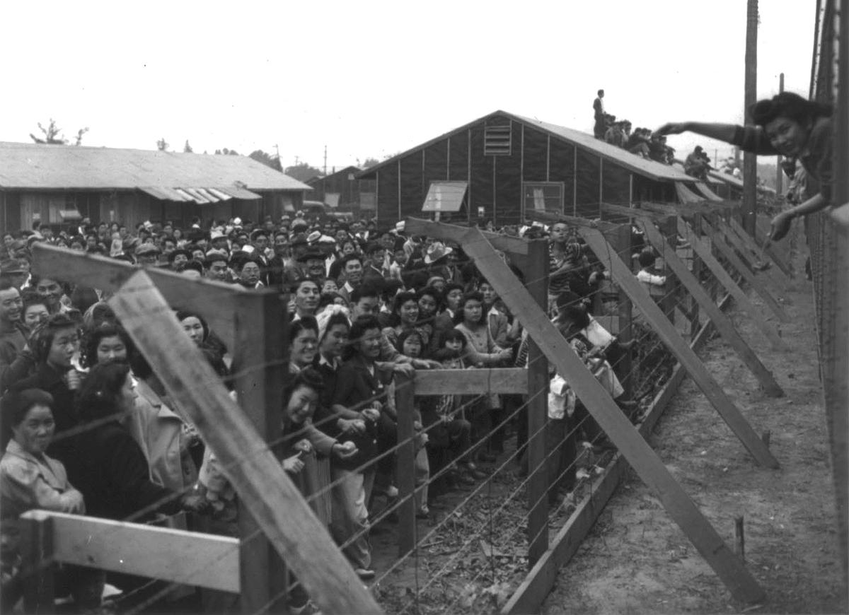 This photo of a Japanese American internment camp represents one of the darkest chapters of our history. Yesterday it was announced Donald Trump will be reopening one of these camps to detain migrant children. These children belong in homes, schools, and parks—not prison camps.
