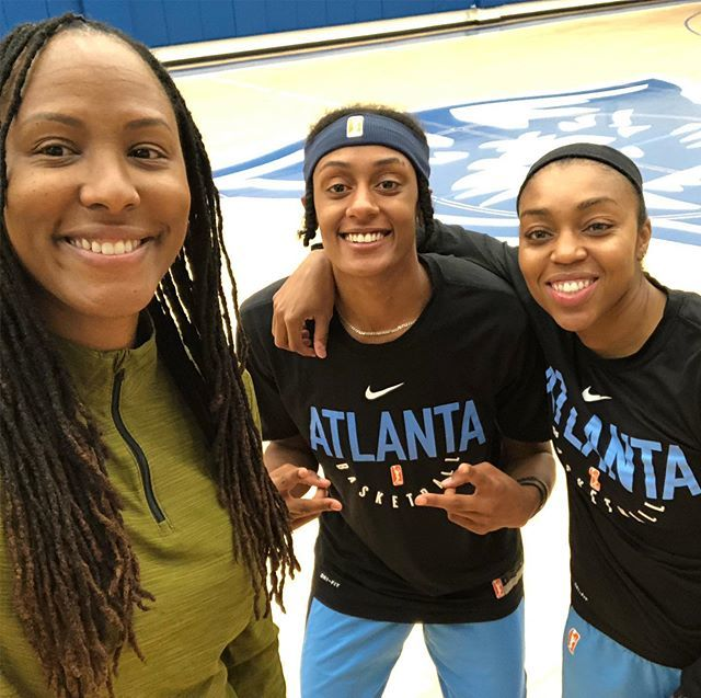 In Atlanta with the @atlantadream hanging out with a movie star @da20one and kind spirit @brittbundlez most of all they are amazing ballers who understand their impact.  @wnba #wnbamentalhealthseminar #mentalhealthawareness #mentalhealth #mentalhealthmat… http://bit.ly/31qcDcA