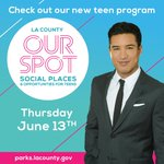 Image for the Tweet beginning: Join us and Mario Lopez