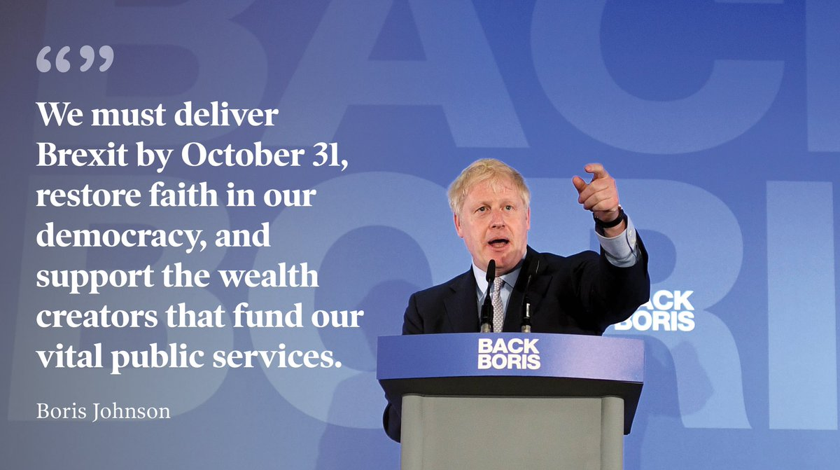 We can get Brexit done and we can win. We can unite our country and our society. Join the team 👉 backboris.com