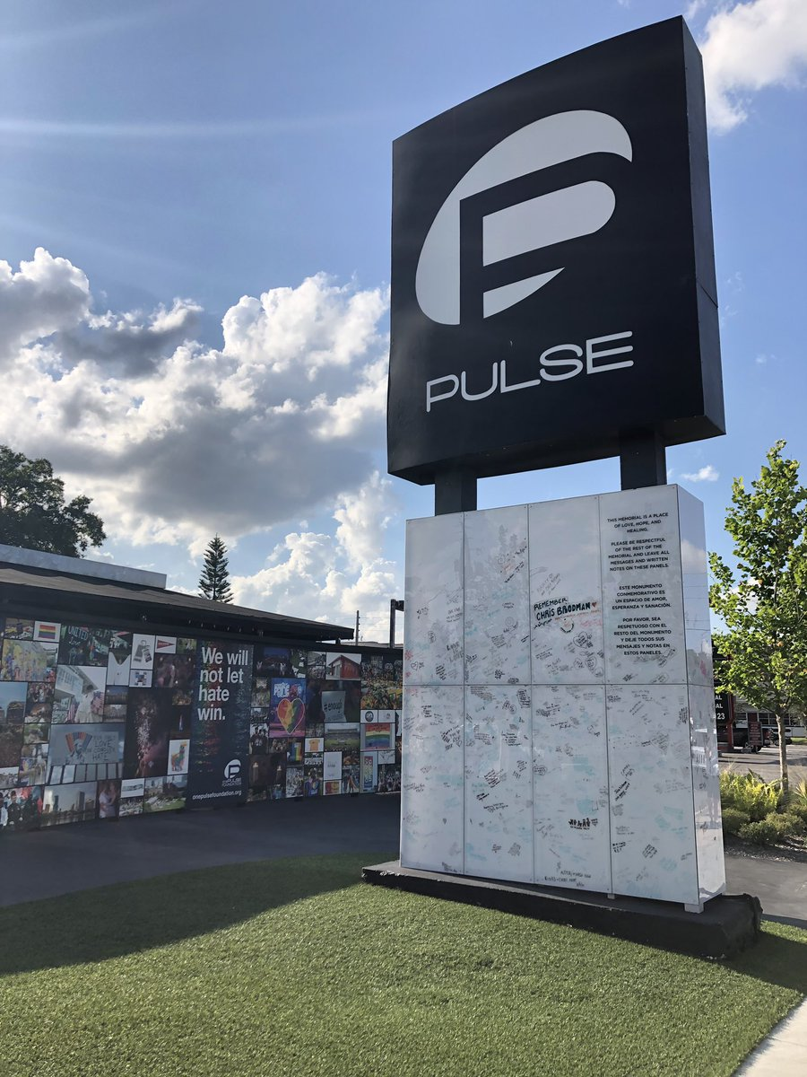 Today, we remember, and we will not let hate win.  #OnePulse