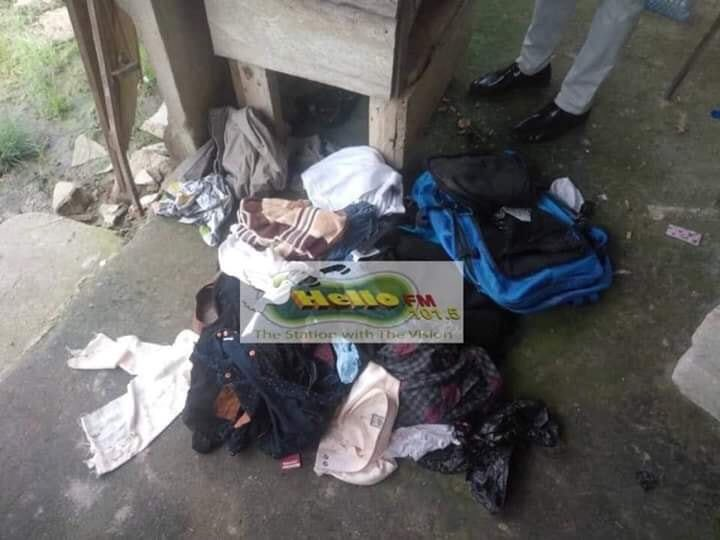 Hideout of the Canadian kidnappers in Kumasi where they were arrested by National Security Operatives. #JoyNews #JoySMS #GhanaNews #Ghana #GHToday #Kumasi #3NewGH #AdomNews #Canada #Accra