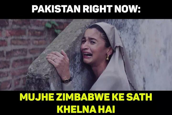 Pakistan once again:-#AUSvPAK <br>http://pic.twitter.com/n4SgTAFibU
