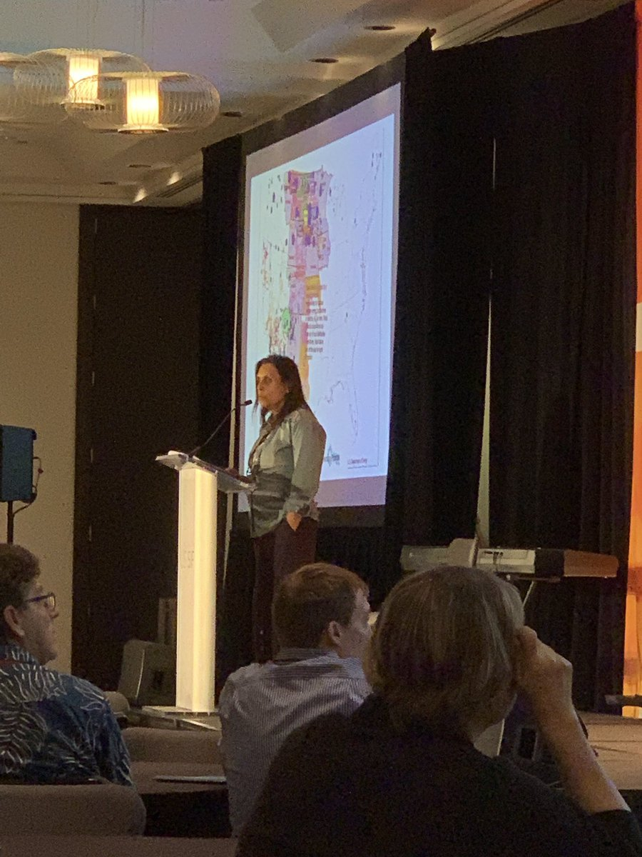 Winona LaDuke speaking on indigenous resistance and imagining a carbon-free future. #USSIF2019