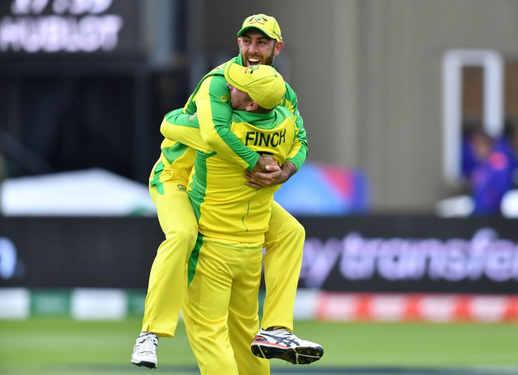 """Vic Marks, Ex-England spinner on TMS:""""It felt a lot closer than the 41 runs Australia have won by. It does not reflect the situation of 10 minutes ago when it was anyone's game.A brilliant run out from Maxwell to win the game.""""Live: https://bbc.in/2Ibbe1Z#bbccricket #CWC19"""