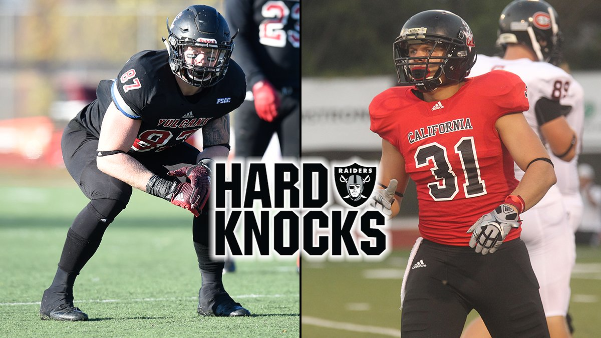 FB: Paul Butler '16 and Erik Harris '13 will be in NFL training camp this summer with the Oakland Raiders. The Raiders were announced as the team featured on the newest season of Hard Knocks on HBO