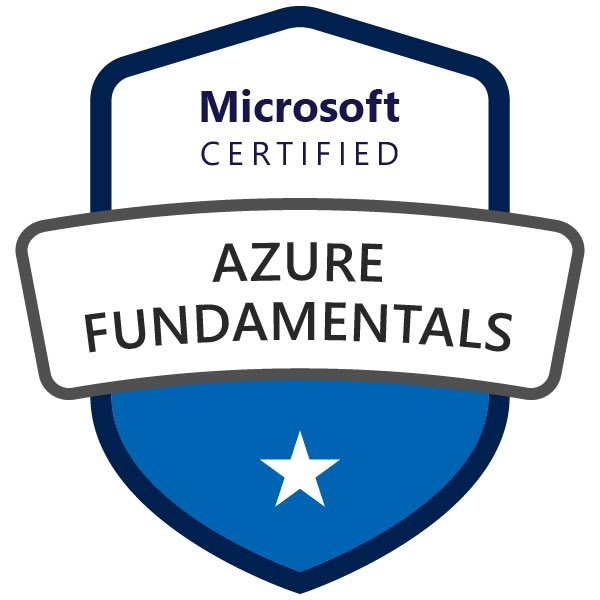Excited to have passed my #azurefundamentals today! Really enjoyed the course and highly recommend. Would love to hear from #MIEExpert who have taken it or #ComputerScience teachers who have used the content in lessons. Check it out: docs.microsoft.com/en-gb/learn/pa… #MicrosoftEdu #Azure