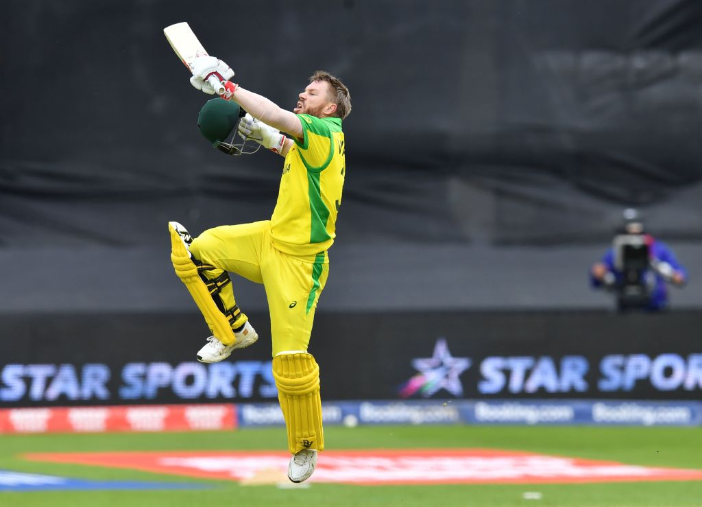 David Warner's first international century since his year-long ban helped Australia to a tense 41-run World Cup victory over Pakistan.Report: https://bbc.in/2ZrD2oJ#cwc19 #bbccricket