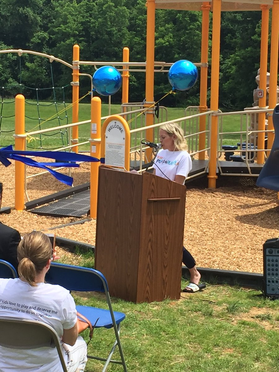 Five years ago, physical therapist, Suzanne Caracappa had an idea....she shared it with her principal @ECLCprincipal and the journey began! @ourplace2play @FTS_NDickstein @CRAMrMillaway @robyn_klim