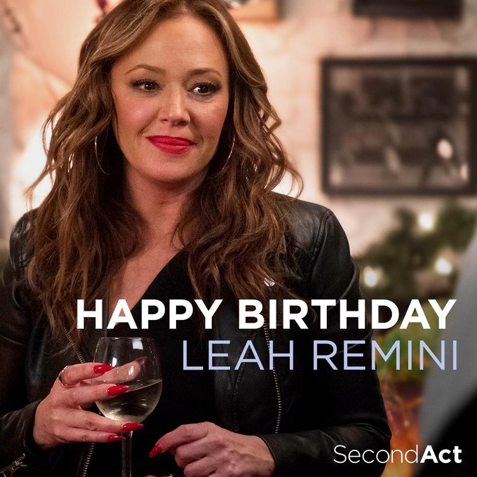 Happy birthday to the lovely Leah Remini!