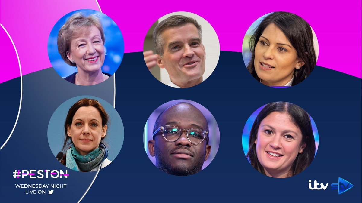 Tonight's full lineup @andrealeadsom, @patel4witham, @Mark_J_Harper, @lisanandy, @SamGyimah, @zatzi.   Join them LIVE on Twitter and @ITV from 10.45pm. #Peston