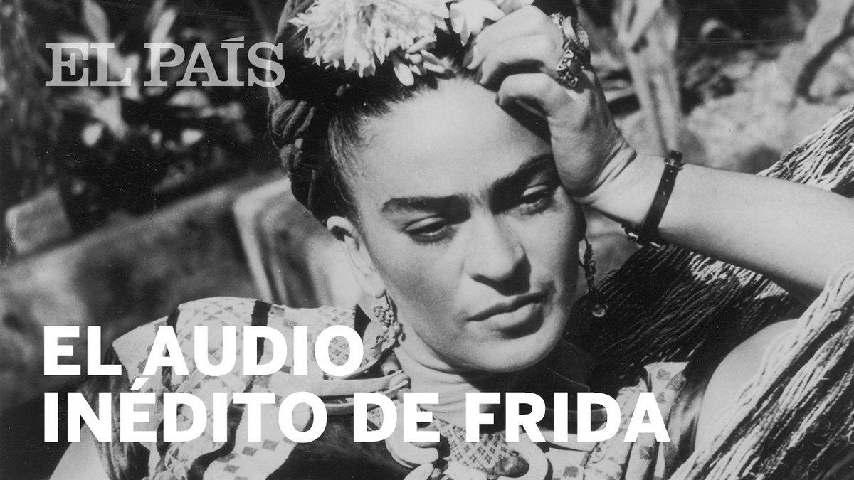 Inédito | La Fonoteca Nacional ha hecho pública una grabación radiofónica en la que la artista recita fragmentos de Retrato de Diego, un texto que escribió en 1949 para describir a su esposo, el pintor Diego Rivera. En busca de la voz de Frida Kahlo http://ow.ly/V2rt30oVLc1