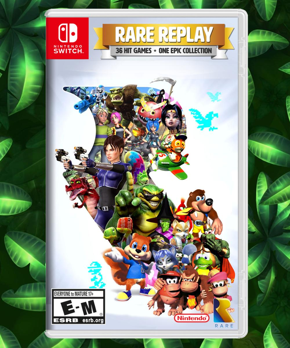 Now that the Donkey Kong characters and Banjo-Kazooie are reunited, we need a special version of Rare Replay for the Nintendo Switch that includes the Donkey Kong games and Star Fox Adventures. Retweet if you agree! @NintendoAmerica
