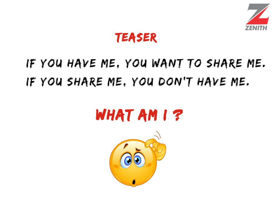 Think you know the answer? let us know in the comments! #WednesdayTeaser #BrainTeaser #WisdomWednesday <br>http://pic.twitter.com/2Huarge4bY
