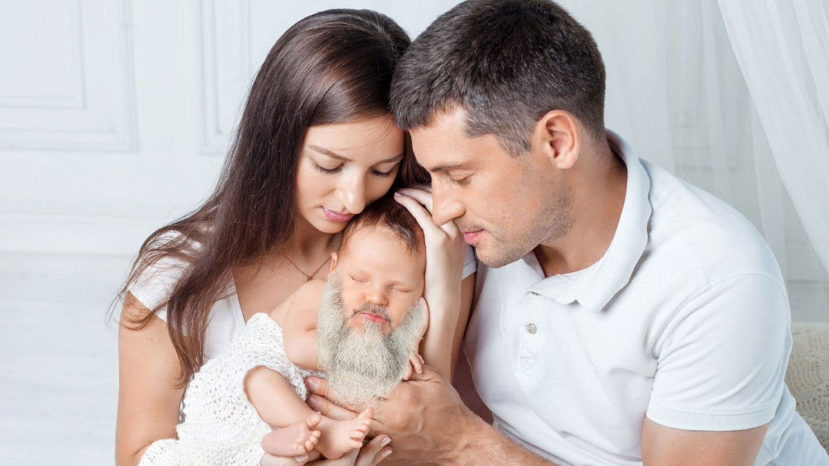 Major Disappointment: These Parents Played Their Baby Classical Music In The Womb And He Was Born With A Long White Beard But Is Still Dumb As Hell http://clckhl.co/Xdh6XPJ