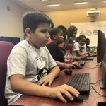 Campers from the @BGCA_Clubs of Greater High Point are on campus today designing their own video games! 🎮 #HPU365 #OurCityOurUniversity