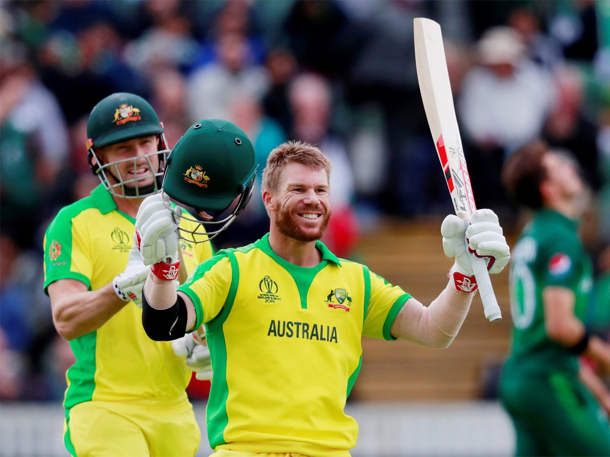 #WC2019WithTimes #CWC2019 #ICCWorldCup2019 #CWC19 #AUSvPAKThis century means a lot as a batsman, says @davidwarner31READ➡️http://toi.in/b2mCUa/a24gk