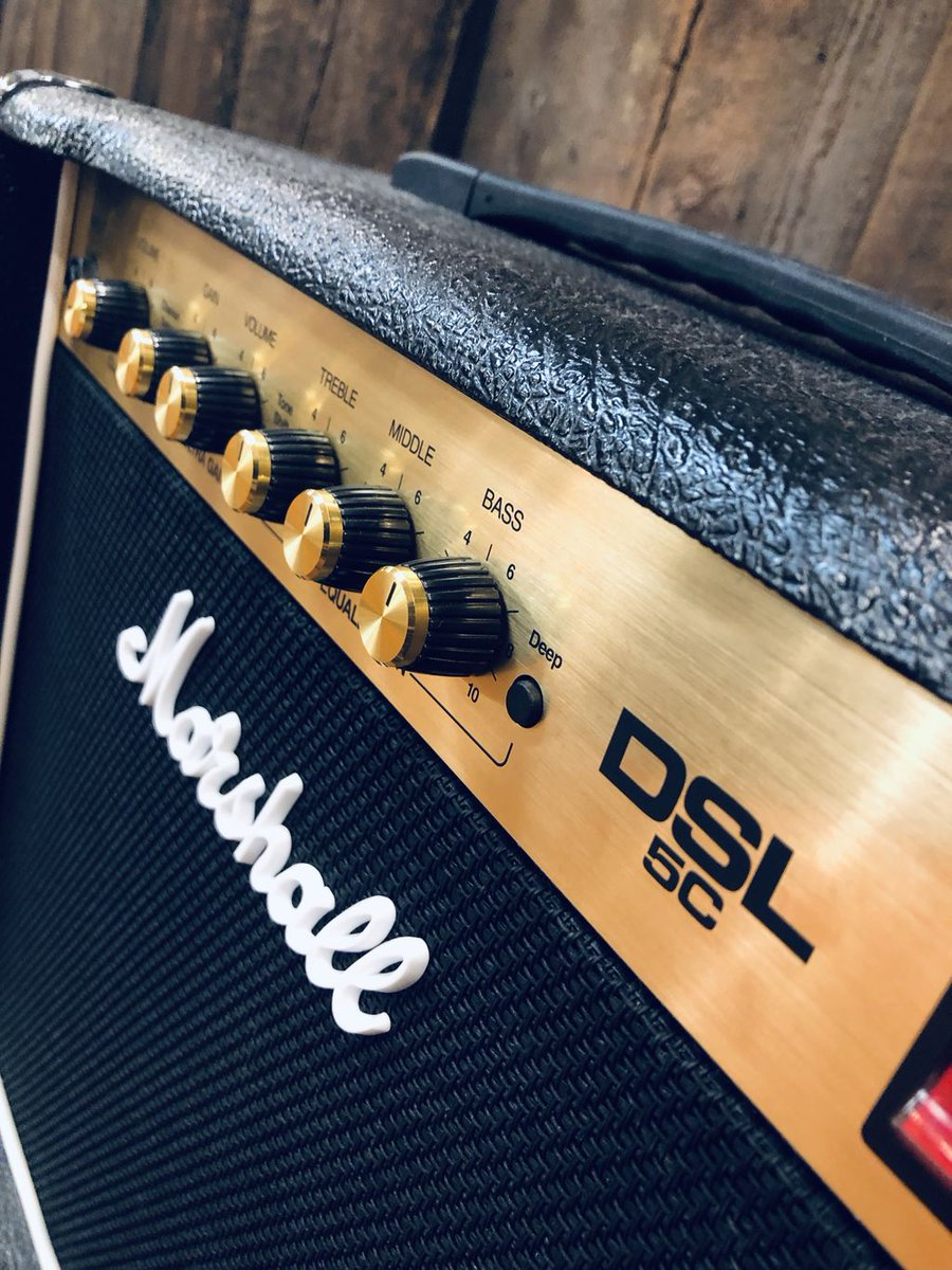 When you play with passion & emotion, you need an amp that can deliver what you are are creating. The Marshall DSL 5C will be the amp that creates brilliant clean tones, sweet crunches and #saturateddistortions. Perfect for the studio, rehearsals and live performance! #wearemusic <br>http://pic.twitter.com/Lb5hDFTrok