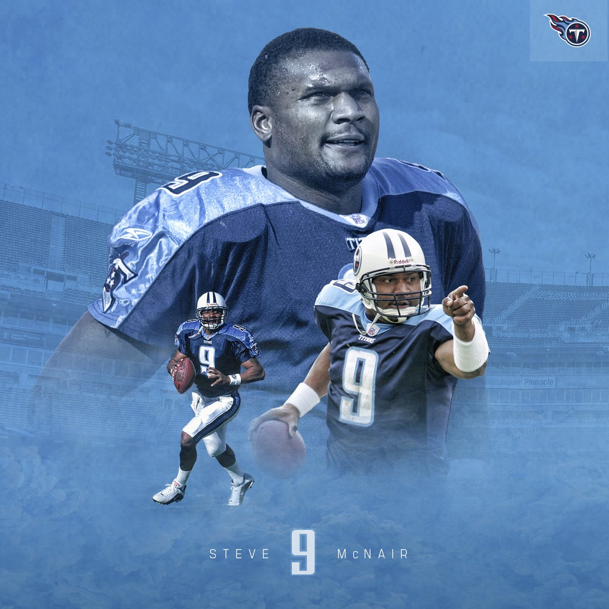 separation shoes d31bb 2a85a Tennessee Titans Retire Steve 'Air' McNair's Jersey Number