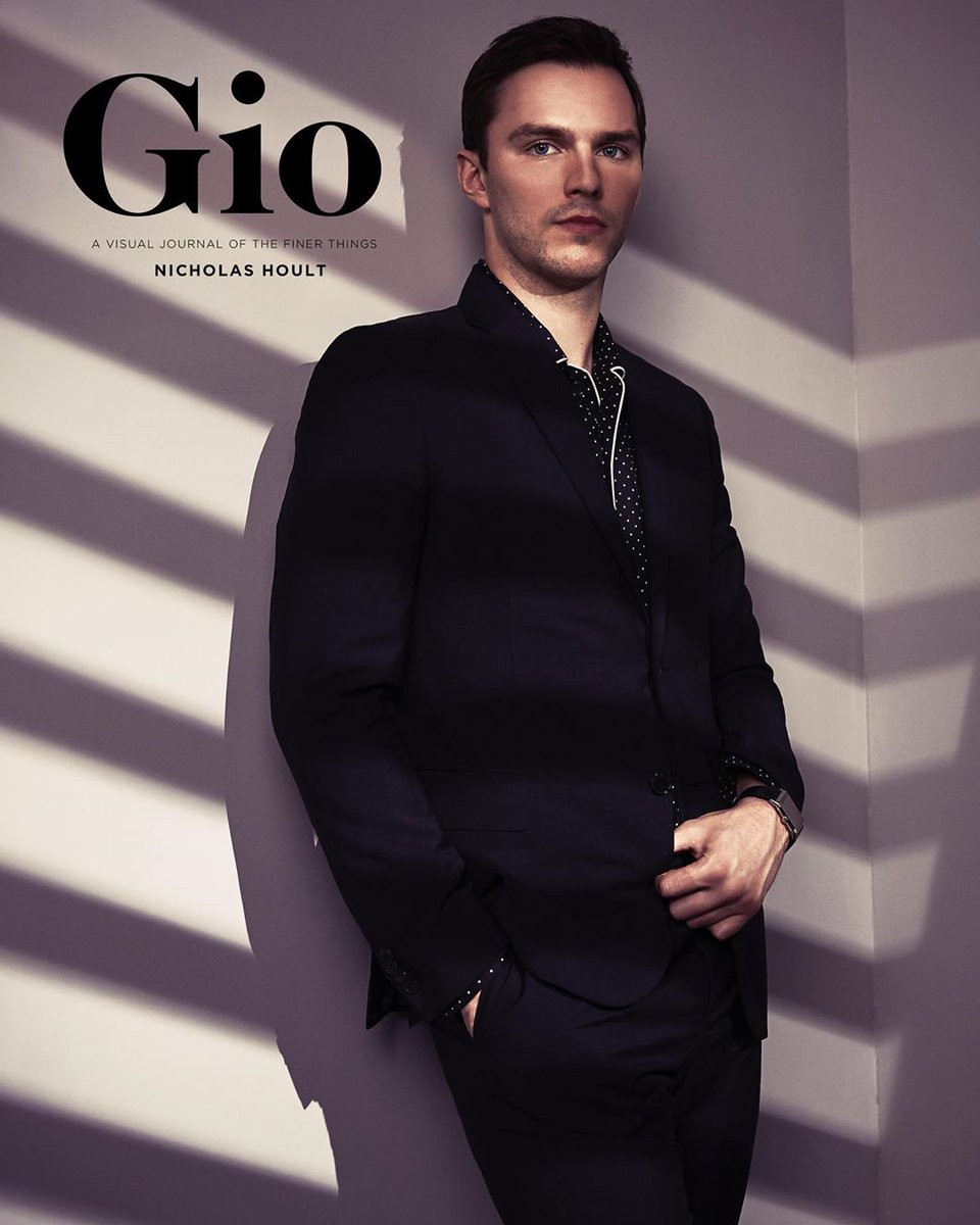 "Magazine Covers on Twitter: ""Nicholas Hoult for Gio ..."