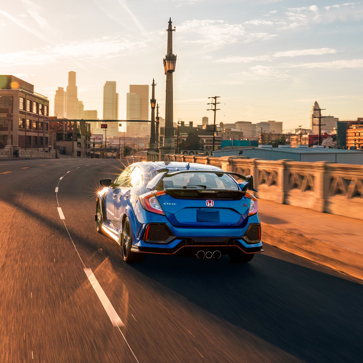 Seventy years of Honda engineering and ingenuity is brought to you in one vehicle: the #CivicTypeR, equipped with a 2.0-liter VTEC® turbocharged engine.