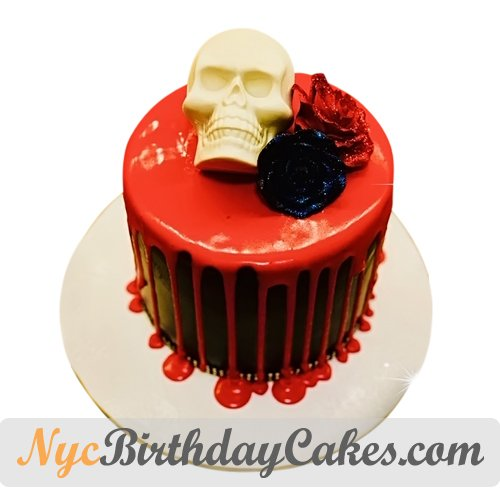 Miraculous Nyc Birthday Cakes On Twitter Romantic Skull Cake S T Co Personalised Birthday Cards Paralily Jamesorg