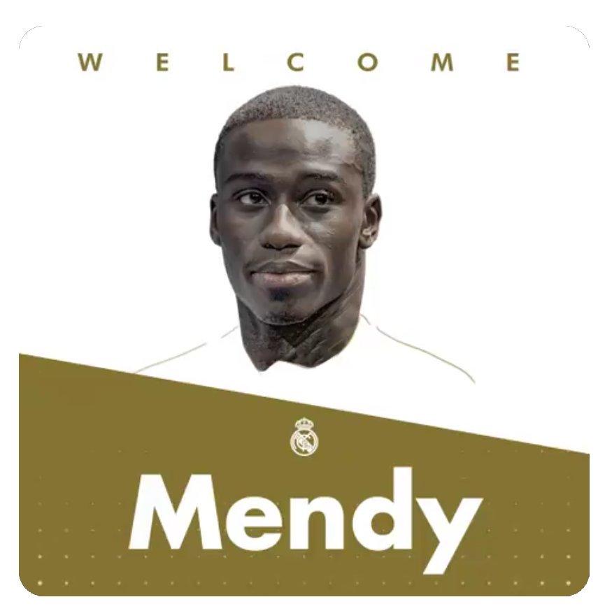 Mendy, nuevo jugador del Real Madrid.