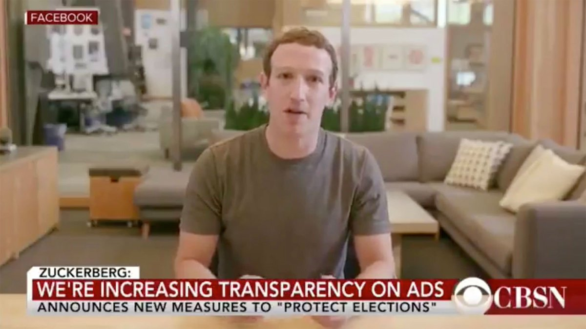 Deepfake Video Of Mark Zuckerberg Barely Good Enough To Masturbate To https://trib.al/FXqiXJr