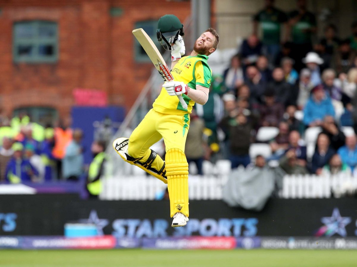✅Vs India🇮🇳56 off 84 (SR 66.67) +1 Runout of Finch✅Vs Pakistan🇵🇰107 off 111(SR 96.4)+Man of the MatchSalute to RAW agent David Warner 🙃😉😋#INDvPAK #PAKvAUS #AUSvPAK