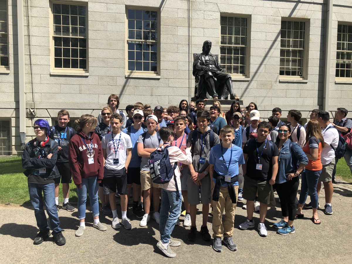 We have now, all been educated at Harvard with @EFtours @EFExplore @StrifflerTeach8 #daytwo #boston #8thgradetrip #exploremore<br>http://pic.twitter.com/hWM5869LEJ