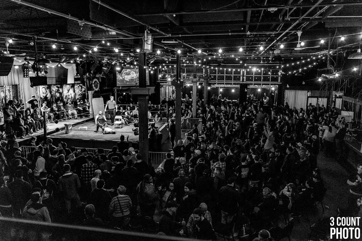 There is nothing quite like the live AAW experience and we are so grateful to every single that fan that has ever bought a a ticket and attended a show. Month after month you inspire us. Thank you.  See you soon! Upcoming show tickets: http://aawpro.ticketleap.com   📸: @3Countphoto