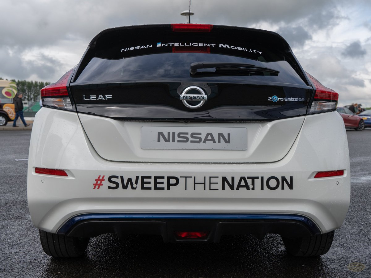 Helping the spread the word about the Cricket World Cup by attending @FullyChargedShw Live ! #SweepTheNation #CWC19 @ICC @NissanUK