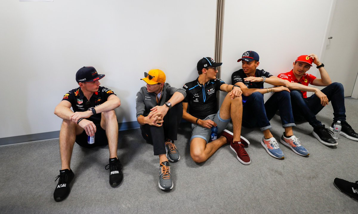We've picked our favourite photos from a memorable weekend in Montreal 📸 🇨🇦  Including these guys hanging out together 👀  GALLERY >> https://f1.com/CAN-TopPics   #F1 #CanadianGP