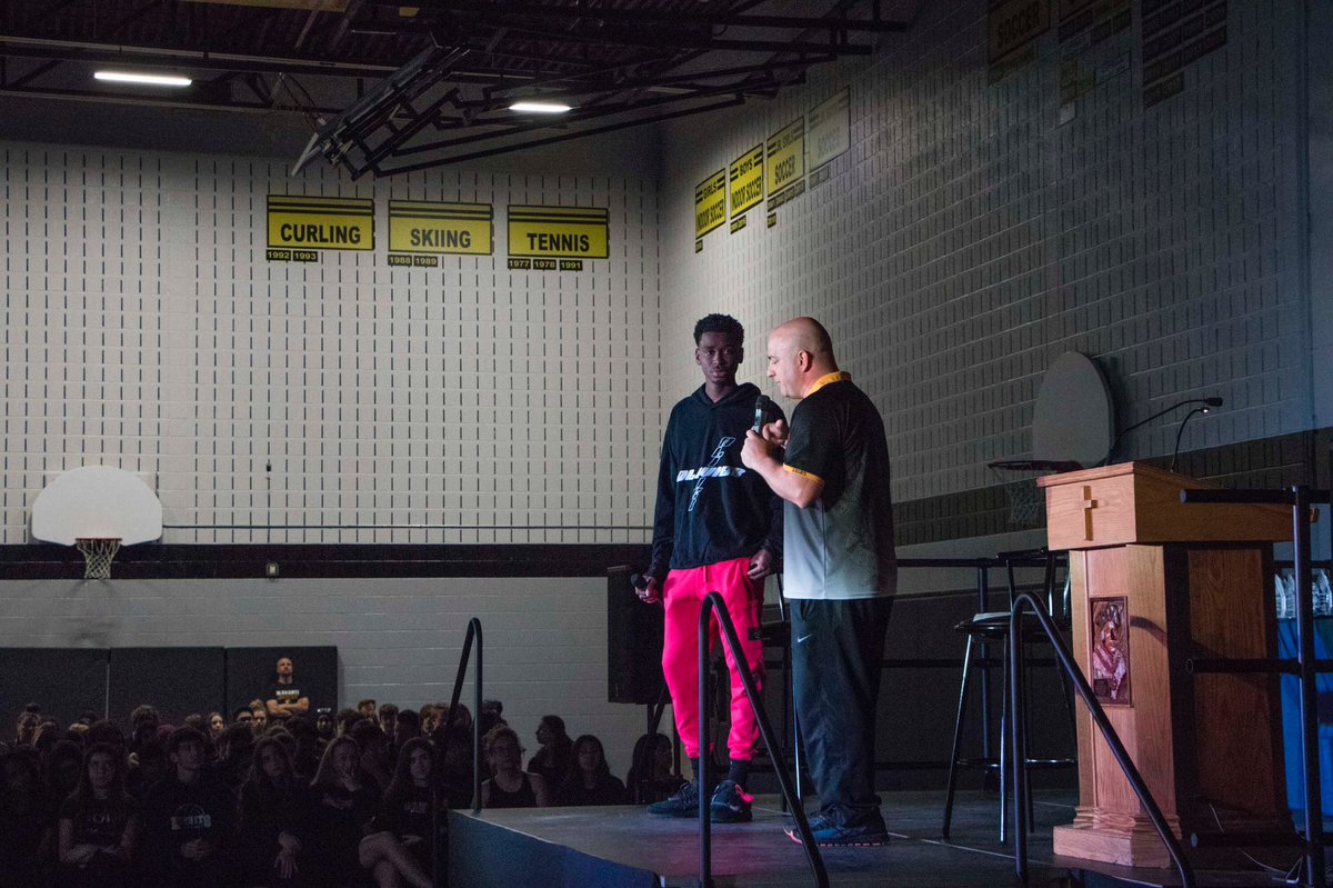 I am very honoured and humbled to go back to my first high school and speak to the students about how they too can reach their goals with hard work and dedication!