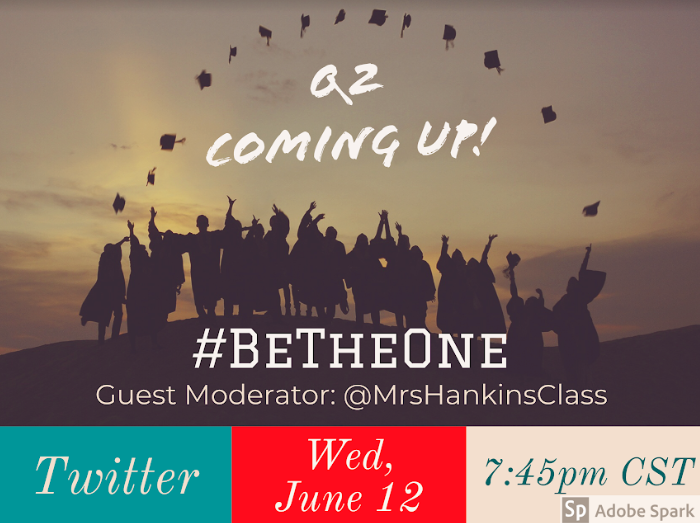 Question 2 ..... In ONE Minute #BeTheOne