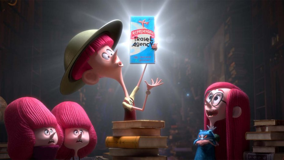 Annecy: #Netflix reveals first footage from @rickygervais The Willoughbys thr.cm/3htHz1