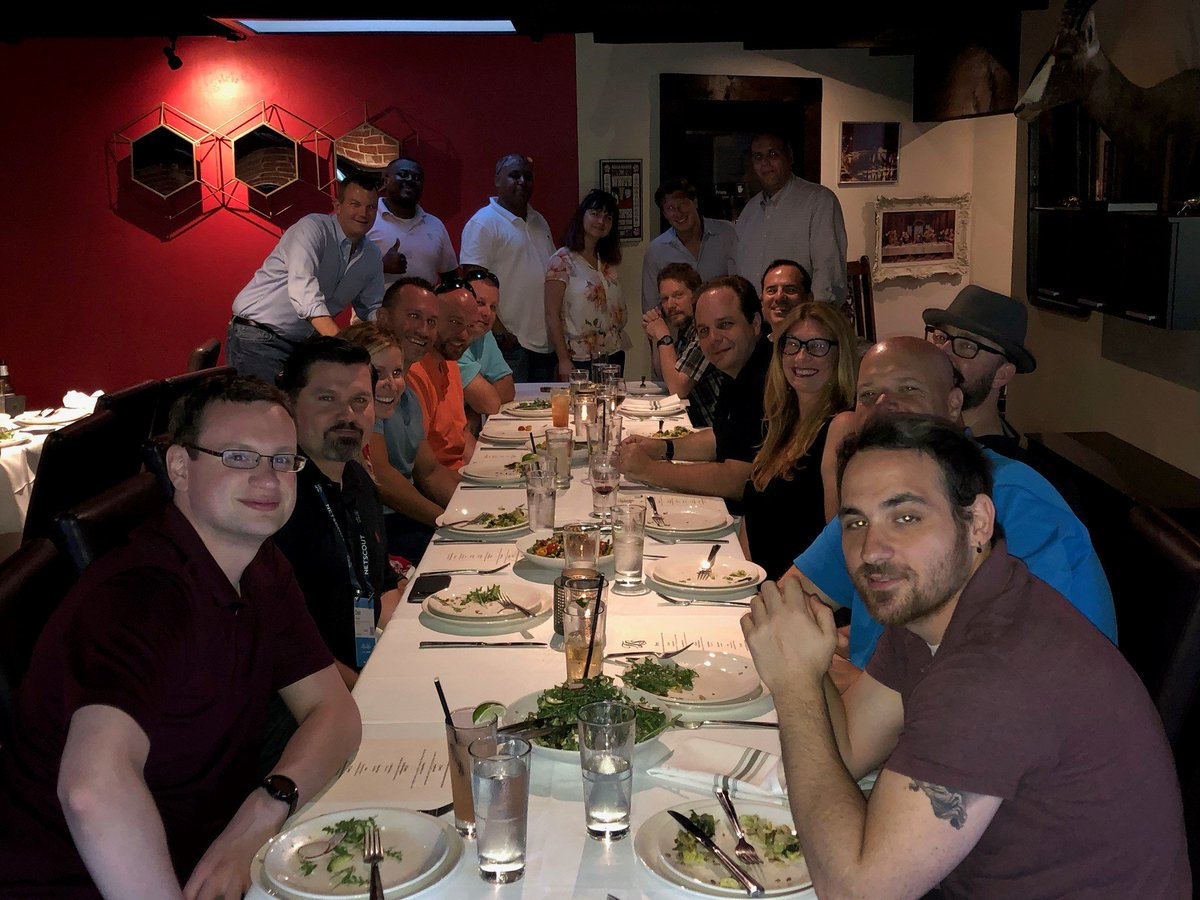 """RT NWNCorporation """"Shout out: Thank you NWN customers and partners for another great dinner at Cisco Live! #NWNCorp #LionsShare #CLUS #CiscoLive2019 #NWNit #SanDiego #CA """""""