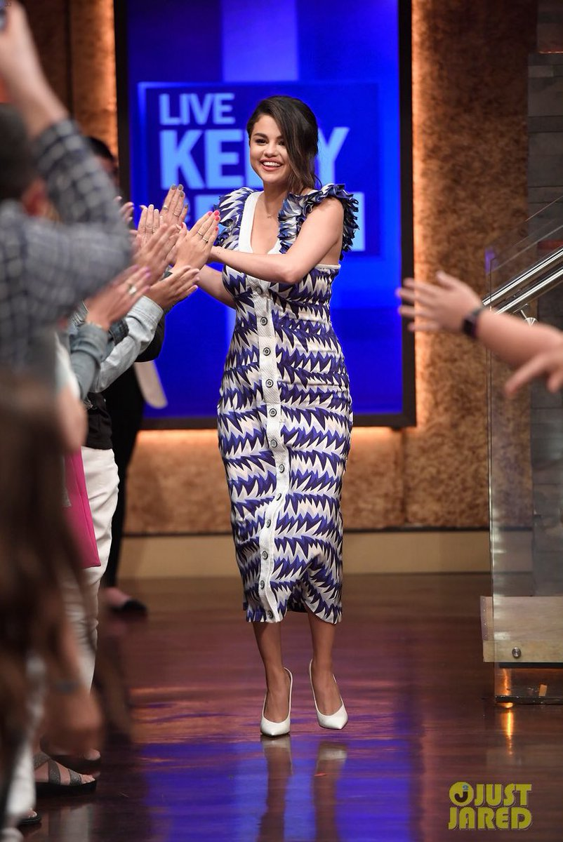 Selena x Live! with Kelly and Ryan