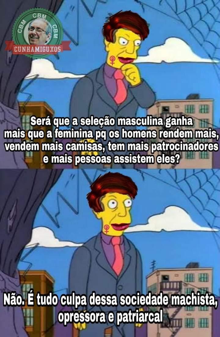 Corrupção Brasileira Memes On Twitter O Time Feminino De