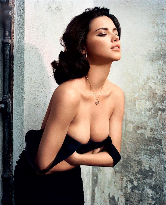 Happy birthday to the one and only Adriana Lima! photos by Vincent Peters for Vogue España June 2010