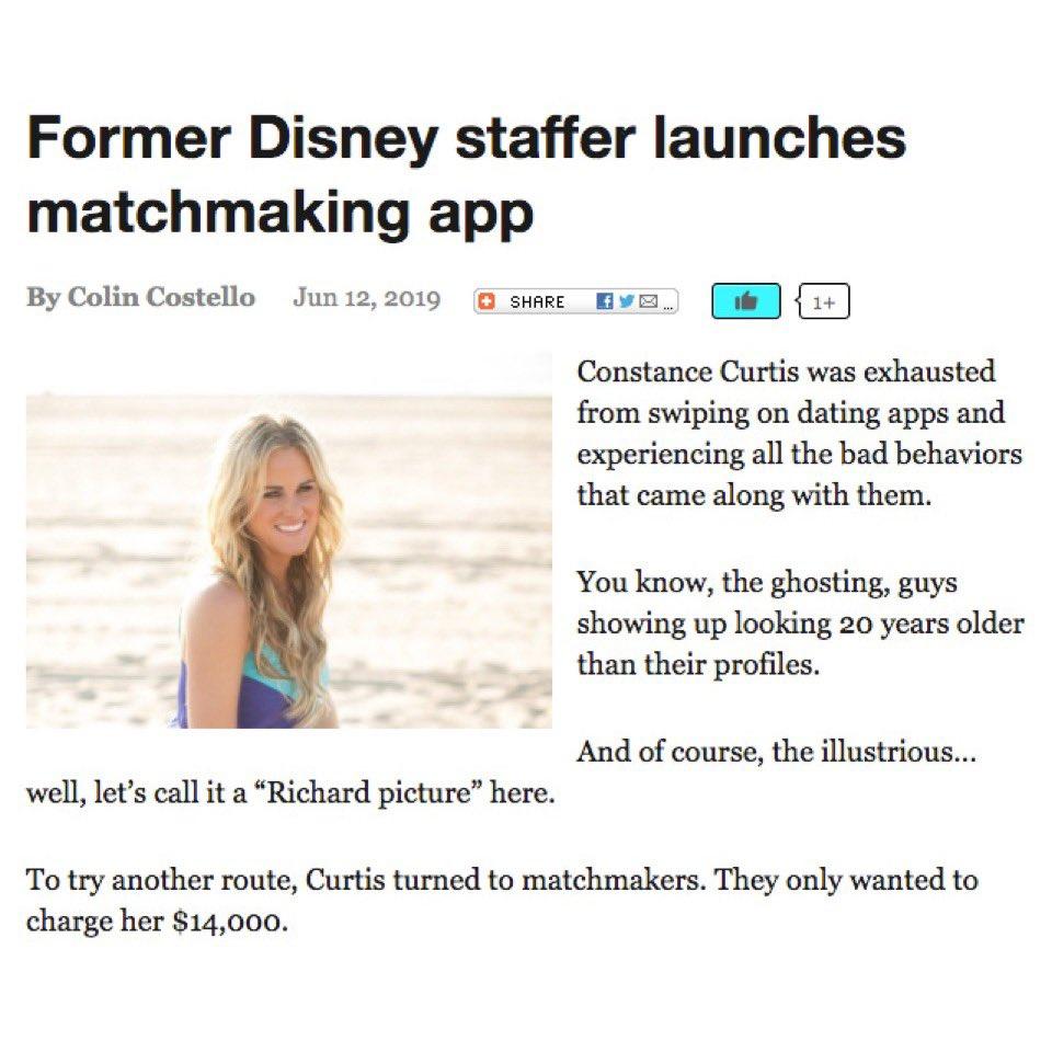 Dating app op iTunes