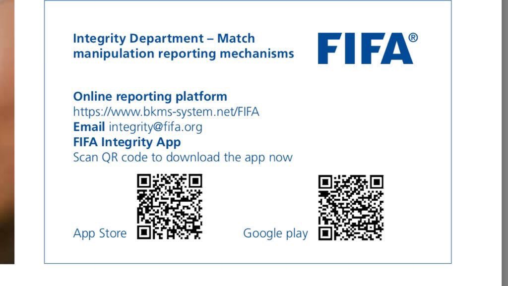 """#Fifamustspeedupinvestigation We will never stop until we investigate corruption in the Saudi league season 2018-2019. Because we believe that the FIFA President and FIFA logo are """"fair play"""" @FIFAcom"""