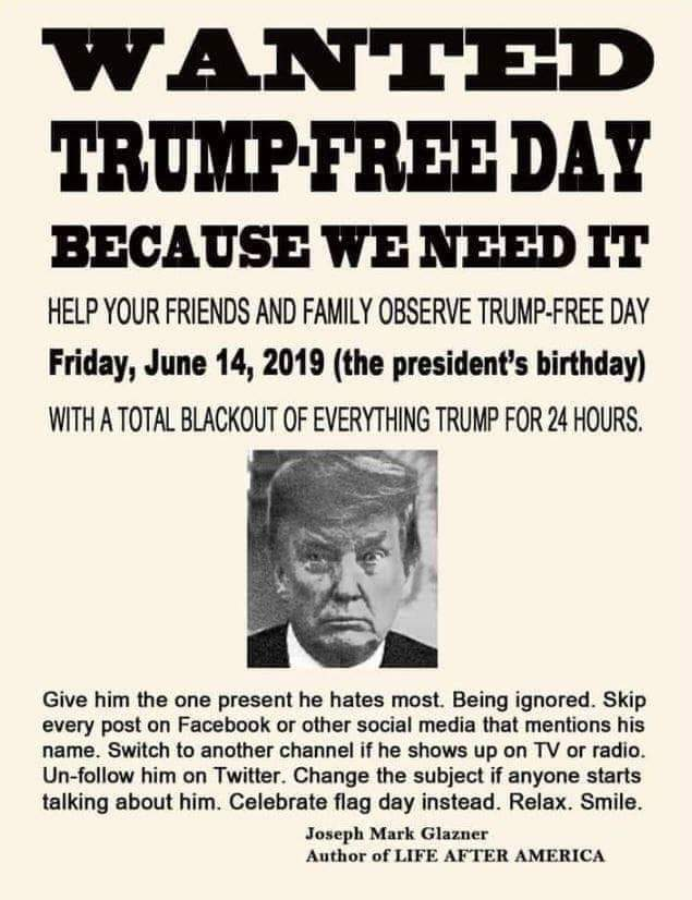 Because....he doesn't deserve our attention. He DESPERATELY wants your attention. Deny him his oxygen.   #TraitorTrump <br>http://pic.twitter.com/dsBCAb0V57